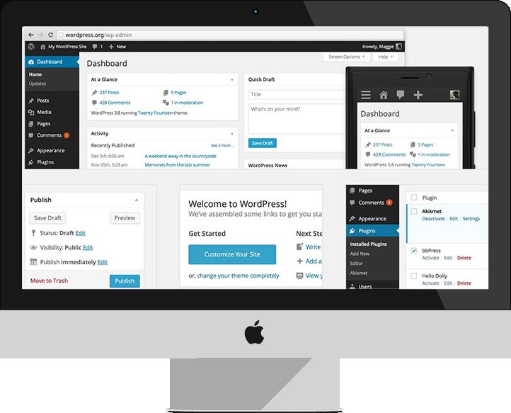 Création de votre site avec WordPress