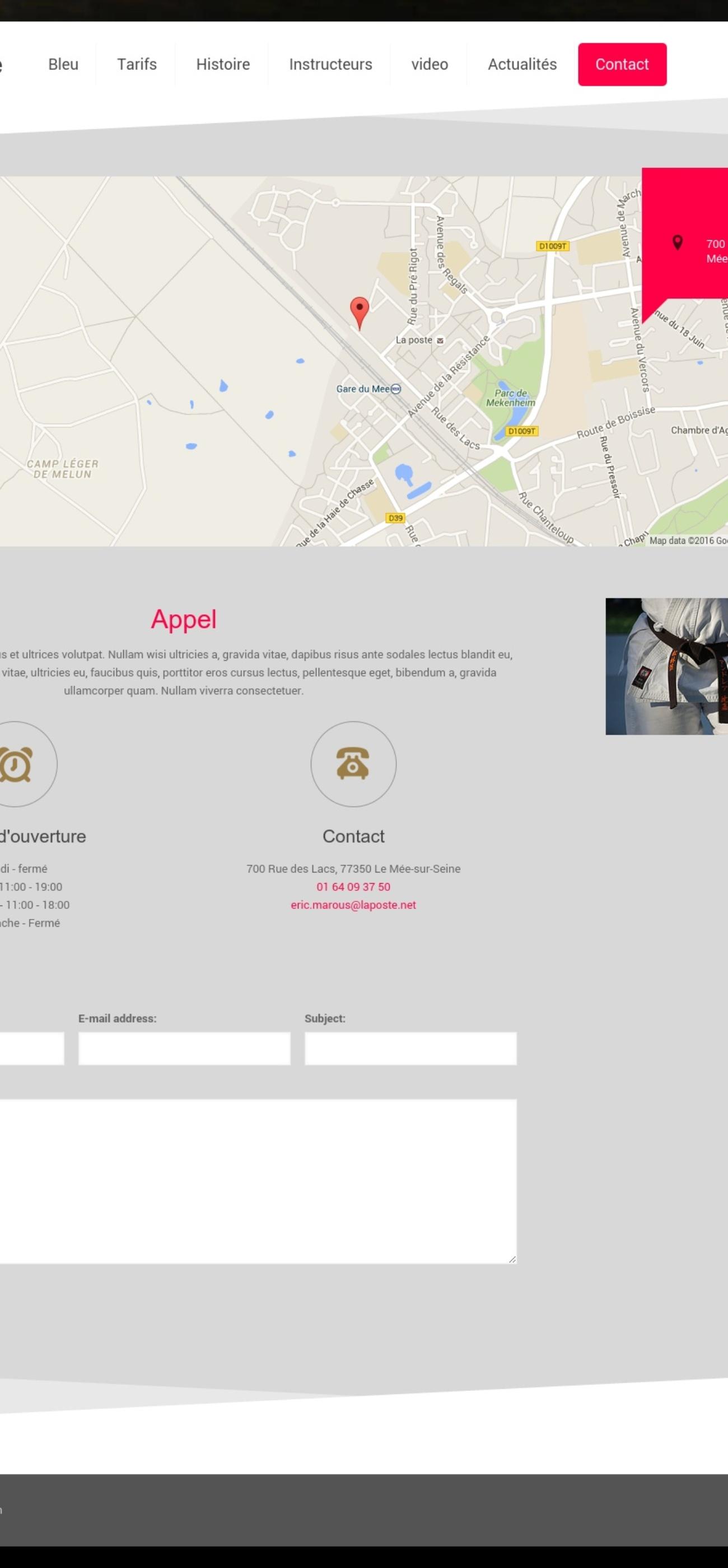 le m e sport karat studio web solution. Black Bedroom Furniture Sets. Home Design Ideas